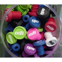 ODI BMX bar end plug - assorted colors, pair