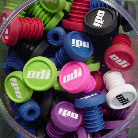 ODI BMX bar end plug - assorted colors, SINGLE