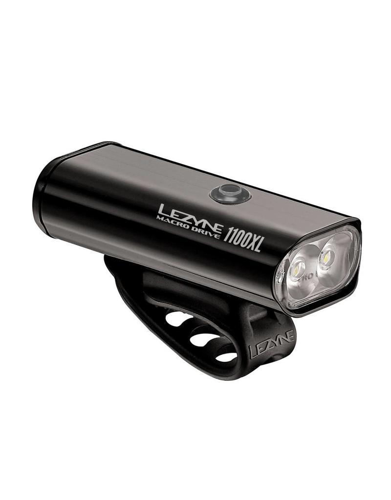 Lezyne Lezyne, Macr Drive, Light, Frnt, 1100 Lumens, Black