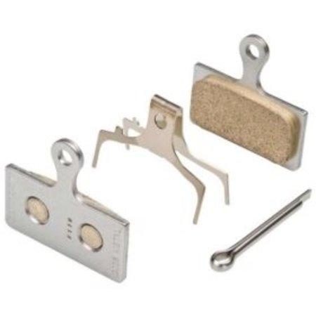 Shimano Metal Pad (G04S) & Spring w/Split Pin (BR-M8000)