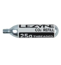 Lezyne Lezyne, Co2 Cartridges, Threaded, 25g
