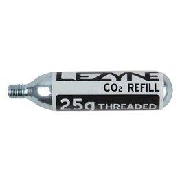 Lezyne Lezyne, Co2 Cartridges, Threaded, 25g