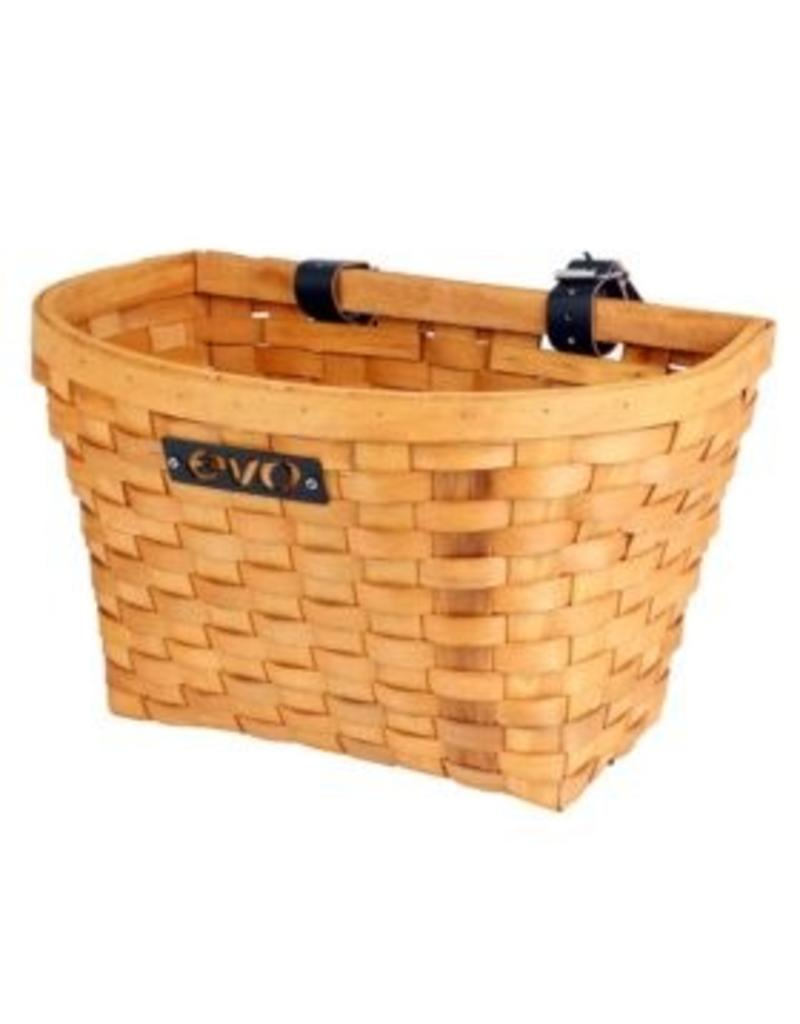 EVO, E-Cargo Wood Classic, Front basket