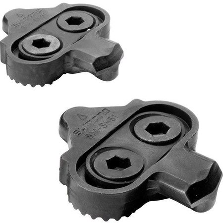 Shimano SM-SH51 CLEAT ASSEMBLY,PAIR SINGLE RELEASE,NO CLEAT NUTS