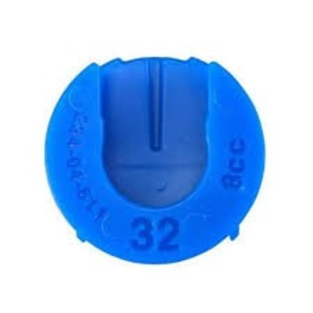 FOX Volume Spacer, Float 32, Blue, 10cc