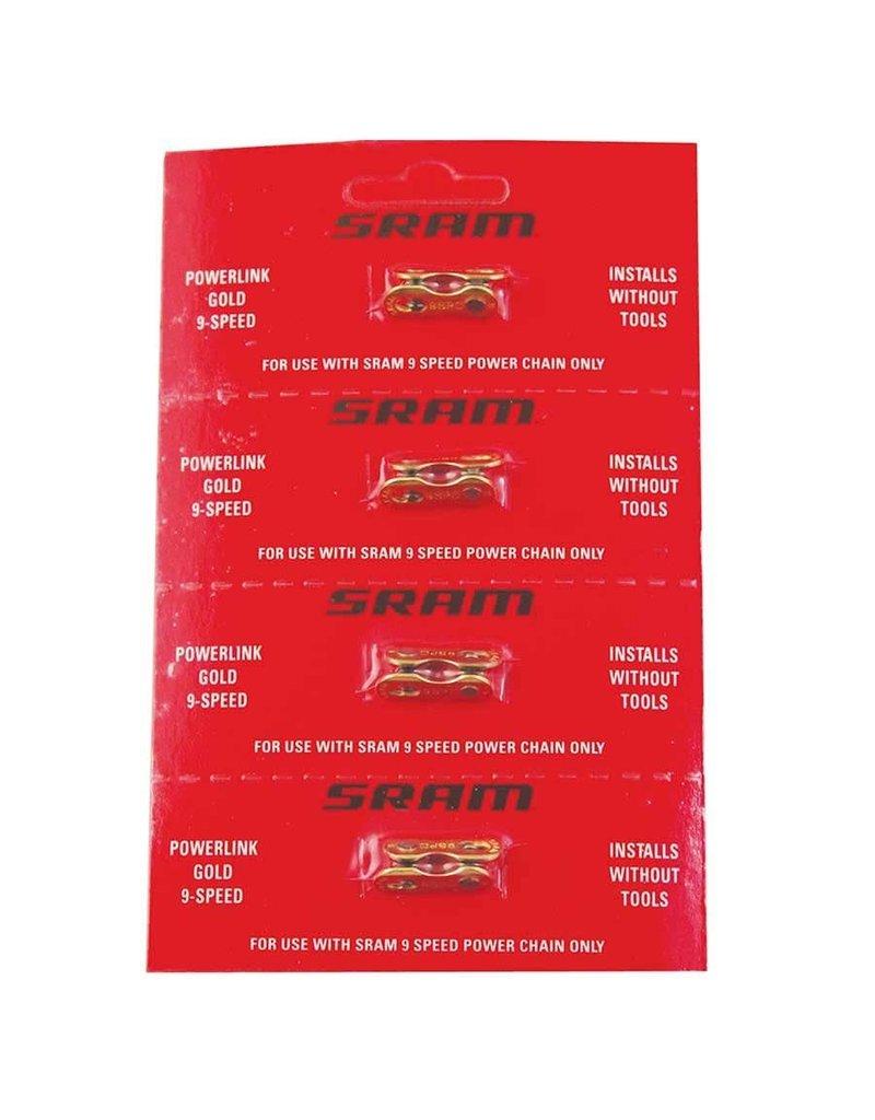 Sram Sram, Powerlink, 9sp, Gold, Quick Link