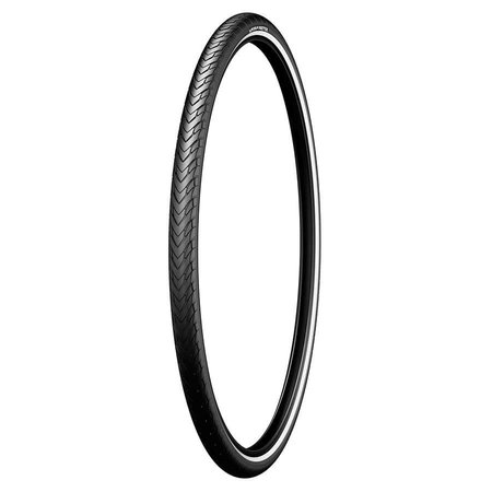 Michelin, Protek, Tire, 700x28C, Wire, Clincher, Protek 1mm, Reflex, 22TPI, Black