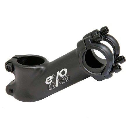 EVO, E-Tec, Stem, 28.6mm, 75mm, 35, 25.4mm, Black