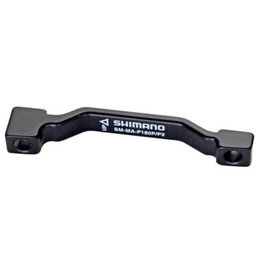Shimano Shimano, SM-MA-F180P/P2, Disc brake adapter for Post Mount caliper, Front, Post Mount fork, 180mm rotor