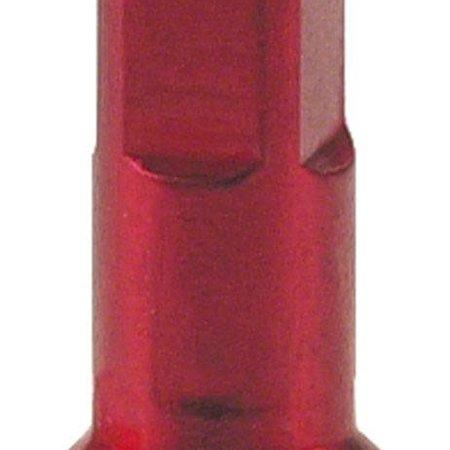 WHEELSMITH ALLOY NIPPLE RED