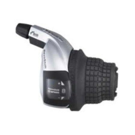 Shimano Shimano, Tourney Revshift SL-RS45, Shift levers, 6 sp., Black