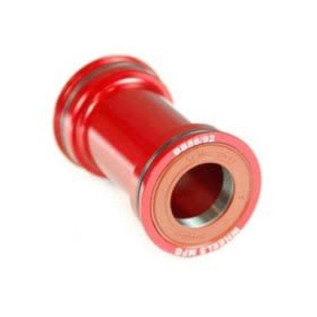 WHEELS MANUFACTURING Wheels Manufacturing, Pressfit 86/92, Press-fit, BB Shell: 86/92mm, Dia.: 41mm, Axle: 24mm, ABEC 3, Black, BB86/92-BB