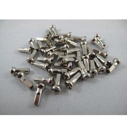 Sapim Nipple Brass 12mm Silver Polyax