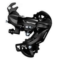 Shimano, Tourney RD-TY300, Rear derailleur, 6/7sp., SGS, Black, With adapter
