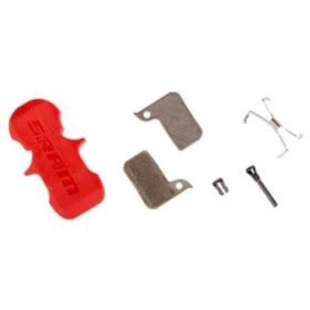 Sram Sram, HRD, Level TLM, Level Ultimate, Disc brake pads, Sintered metal, Steel back plate, pair