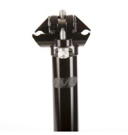 EVO, Barrel Head, Seatpost, Black, 30.9mm