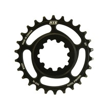 NSB Variable Tooth Chainring, Direct Mount SRAM, Boost, 26T, Black