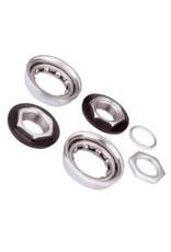 Varia, BMX Bttm Bracket For one-Piece Crank Silver