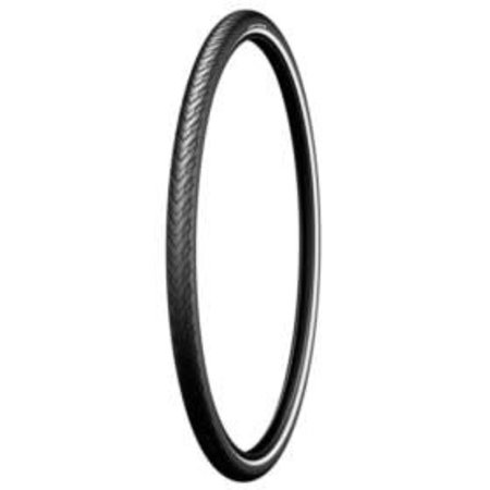 Michelin, Protek, 700x40C, Wire, Clincher, Prtek 1mm, Reflex, 22TPI, Black