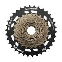 Shiman, MF-TZ500, 7sp. Freewheel 14-34T