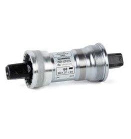 Shimano Shimano, EBBUN55C22, BB-UN55, Square, BB Shell: 73mm, Axle: 122.5mm, Steel, Silver