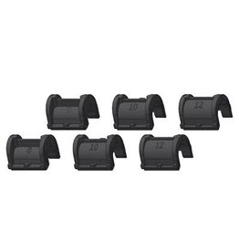 Ortlieb ORTLIEB PART PANNIER QL2.1 HOOK INSERTS (2X8MM, 2X10MM, 2X12MM) 1 SET