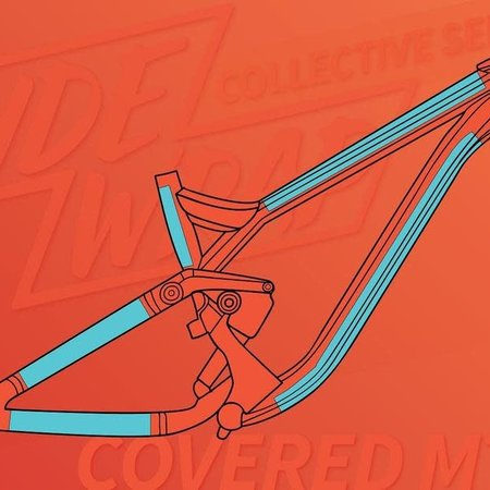Ridewrap RideWrap Covered Frame Protection Kit, Collective Series, MTB Dual Suspension, Clear Gloss Finish