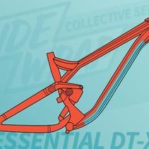 Ridewrap Essential Downtube Kit, Extra Thick