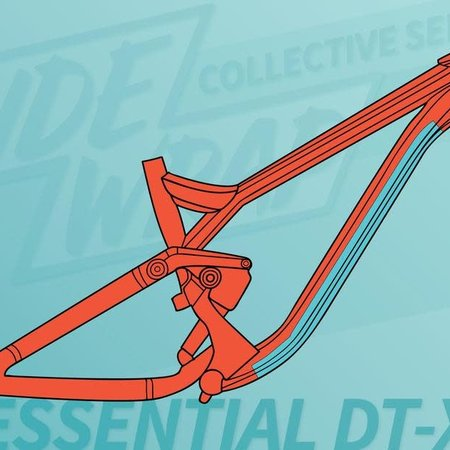 Ridewrap Ridewrap Essential Downtube Kit, Extra Thick