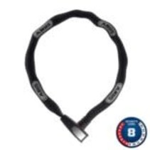 Abus, 8807K, Chain with key lck, 7mm x 85cm (7mm x 2.8')