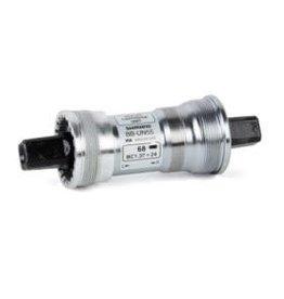 Shimano Shimano, EBBUN55B22, BB-UN55, Square, BB Shell: 68mm, Axle: 122.5mm, Steel, Silver