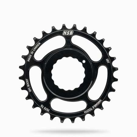 NSB NSB Chainring, RaceFace Cinch, Boost, 28T, Black