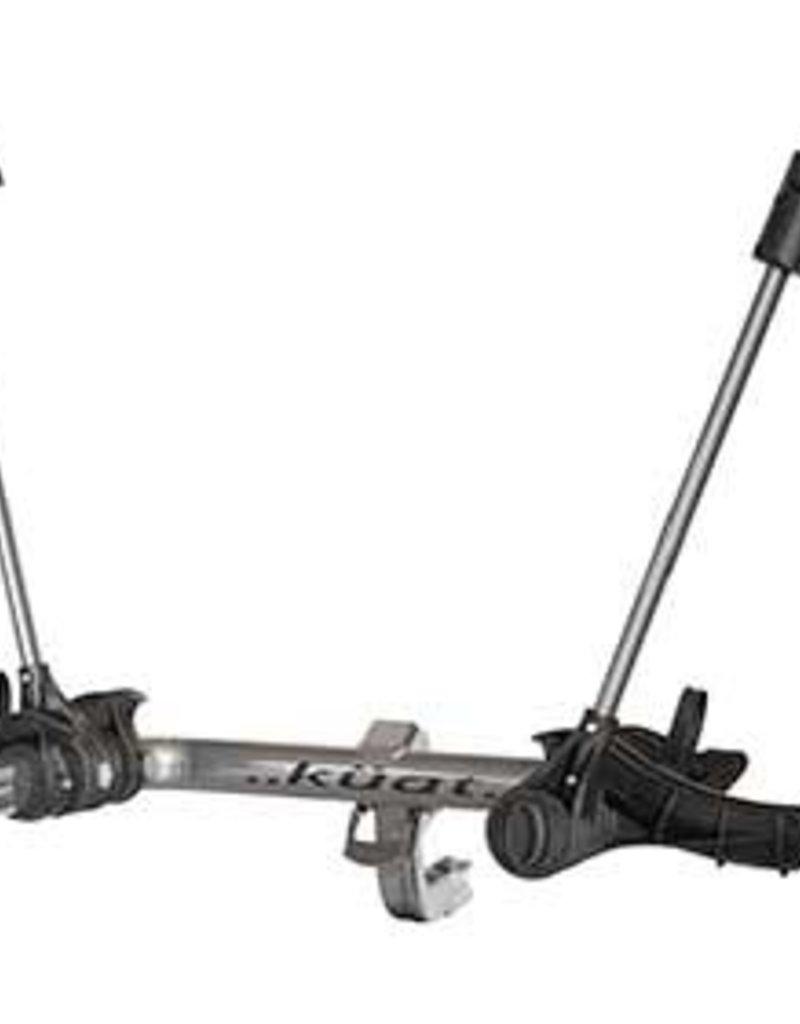 "Kuat, Transfer, Hitch mounted bike Rack, 2 bikes, 2"" and 1-1/4"", Black"