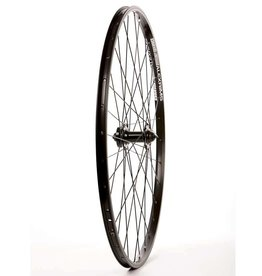 Wheel Shp, Rear 700C Wheel, 32H Black Ally Duble Wall Alex DM-18/ Black Shiman FH-RM70 QR 8-10spd Hub, DT Black Stainless Spkes