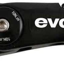 EVO, Compact, Adjustable threadless stem, ST: 28.6mm, -20 to 50deg, C: 31.8mm, Black, 95mm