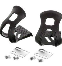 EVO, Strapless Double toe-clips, Black