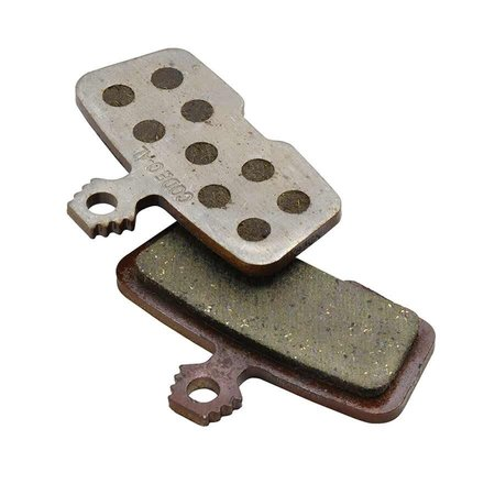 Avid, Cde 2011+ Disc brake pads, rganic, Steel back plate, pair