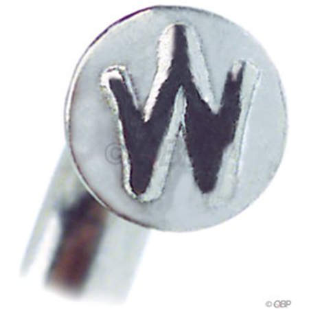 Wheelsmith Blank J-bend spoke, Silver