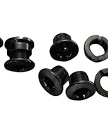 Truvativ, 11.6915.016.000, Chain ring blt kit 4-arm, Triple, Steel/Steel Black