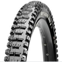 Maxxis, Minion DHR2, 26x2.40, Wire, 3C Maxx Grip, 2-ply, Rear, Downhill, 60TPI, 65PSI, 1265g, Black