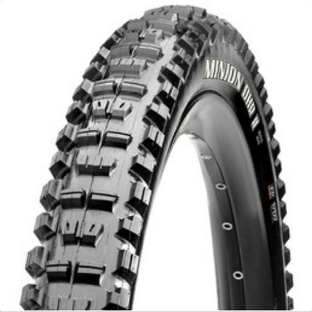 Maxxis Maxxis, Minion DHR2, 26x2.40, Wire, 3C Maxx Grip, 2-ply, Rear, Downhill, 60TPI, 65PSI, 1265g, Black