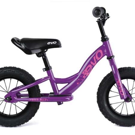 EVO, Beep Beep Balance/Push Kids Bicycle, Purpling Purple, Universal ne-Size
