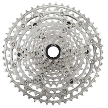 Shimano Deore CS-M6100-12 Cassette - 12-Speed, 10-51t, Silver, For Hyperglide+