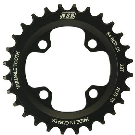 NSB NSB CHAINRING VARIABLE TOOTH