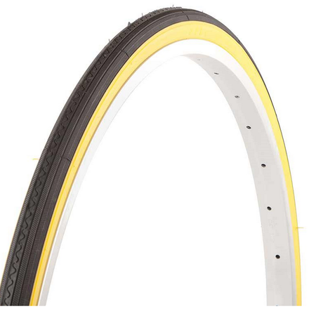 "EVO dash Tire 27""x1-1/4 Wire clincher Beige"