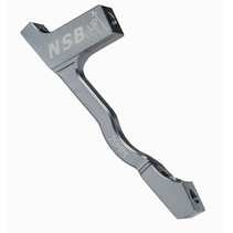 NSB Disc Brake Adapter 180 PM Pewter