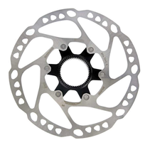 ROTOR FOR DISC-BRAKE, SM-RT64, DEORE, 160MM W/LOCK RING, IND.PACK
