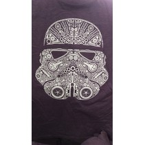 COAL CITY TROOPER T-SHIRT - MENS - PURPLE