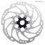 Shimano Shimano SLX SM-RT70-L Disc Brake Rotor - 203mm, Center Lock, Silver