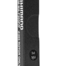 SHIMANO DISC BRAKE ADPT,SM-MA-F203,S/S FIXING BOLT X 2,WIRE X 1,